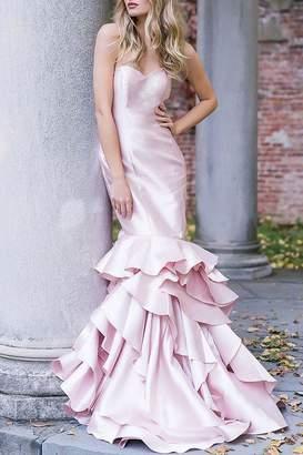 Jovani Blush Bridesmaid Dress