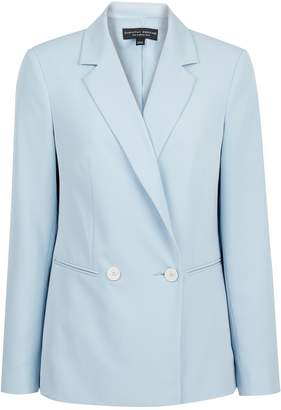 Dorothy Perkins Womens Ice Blue Blazer