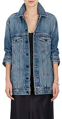 Alexander Wang Denim x Women's Daze Denim Oversized Jacket - Lt. Blue