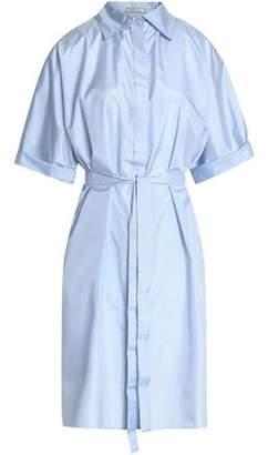 Nina Ricci Belted Silk Shirtdress