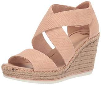 Dr. Scholl's Shoes Women's Vacay Espadrille Wedge Sandal,7.5 M US