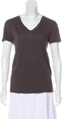 Rag & Bone V-Neck Short Sleeve Top