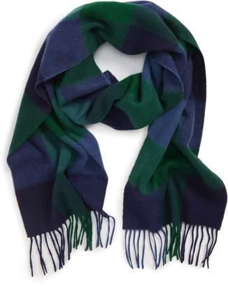 Barbour Lockton Check Merino Wool & Cashmere Scarf