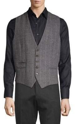 Eleventy Classic Striped Waistcoat
