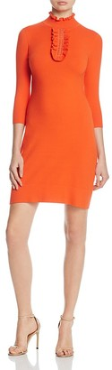 KAREN MILLEN Ruffle Knit Dress - 100% Exclusive $235 thestylecure.com