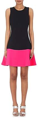 Lisa Perry Women's Colorblocked Fit & Flare Dress - Pink