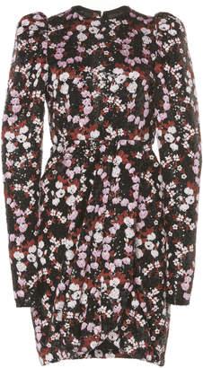 Giambattista Valli Sequined Floral Chiffon Dress Size: 38