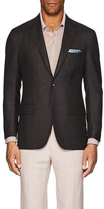 Sartorio Men's PG Checked Wool-Cashmere Two-Button Sportcoat