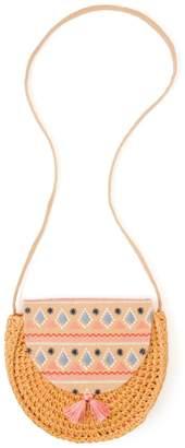 Gymboree Straw Crossbody Bag