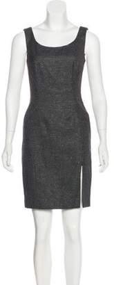 Blumarine Wool Knee-Length Dress