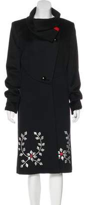 Temperley London Long Wool Coat