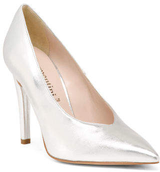 482176fe0e1 Made In Italy Leather Pumps - ShopStyle