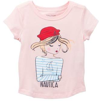 Nautica Sailor Girl Tee (Toddler Girls)