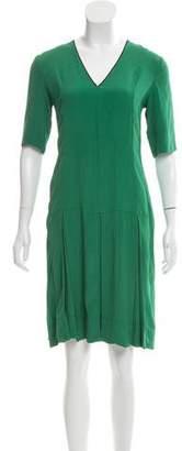 Marni Short Sleeve Silk Dress