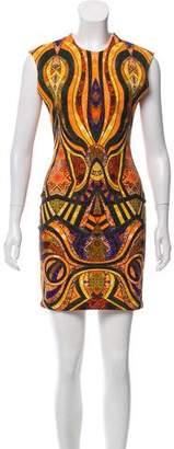 Torn By Ronny Kobo Sleeveless Mini Dress