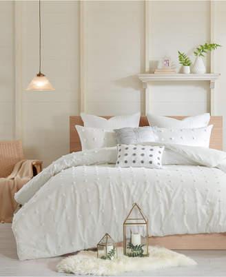Urban Habitat Brooklyn 7-Pc. Full/Queen Cotton Jacquard Duvet Cover Set Bedding