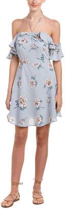 J.o.a. Halter A-Line Dress
