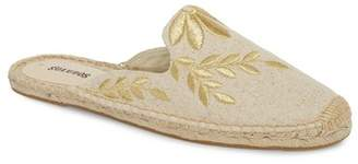 Soludos Leaf Embroidered Loafer Mule (Women)