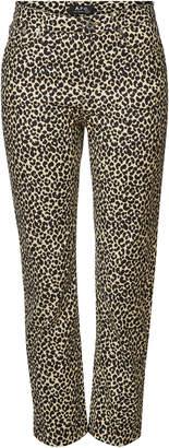 A.P.C. Animal Print Skinny Jeans