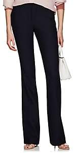 Pt01 Women's Elsa Stretch-Crepe Flared Trousers - Navy