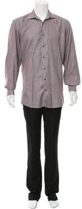 Etro Spread Collar Button-Up Shirt