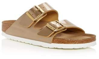 Birkenstock Women's Arizona Patent Leather Slide Sandals