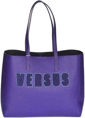Versace Logo Patch Tote