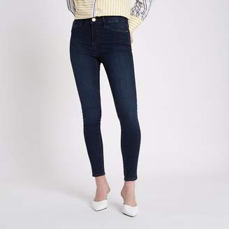 River Island Womens Dark Blue Molly jeggings
