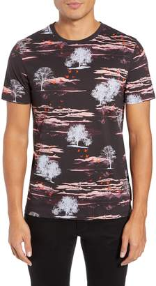 Ted Baker Happie Slim Fit Print T-Shirt