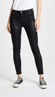 7 For All Mankind The B(air) Coated Ankle Skinny Jeans