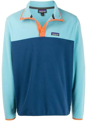 Patagonia snap button fleece pullover