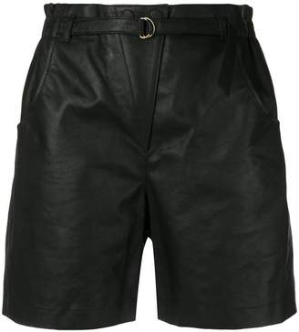 Philosophy di Lorenzo Serafini belted waist shorts