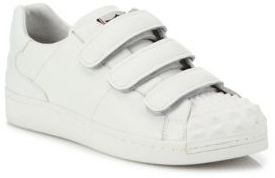 Ash Club Grip-Tape Leather Sneakers $198 thestylecure.com
