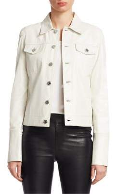 Helmut Lang Glazed Leather Jacket
