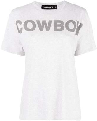 Filles a papa Cowboy T-shirt