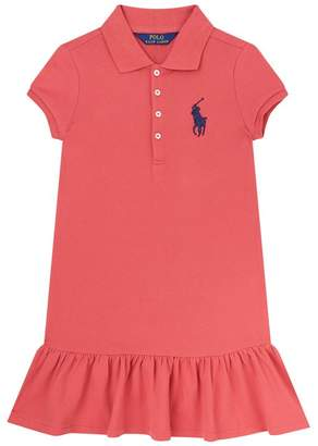 Polo Ralph Lauren Embroidered Logo PoloDress