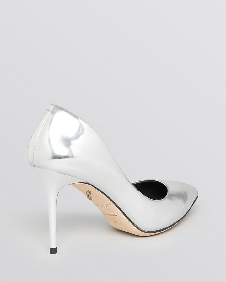 Brian Atwood Pointed Toe Pumps - Malika High Heel