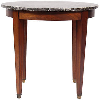 One Kings Lane Vintage 1950s Directoire Marble Top Table