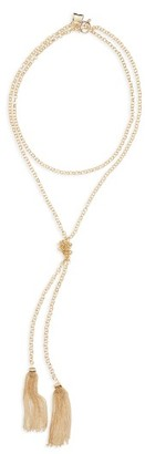 Women's Bp. Chain Tassel Necklace $19 thestylecure.com