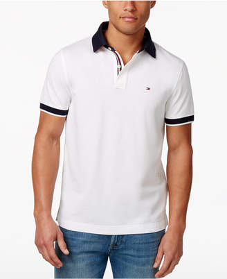 Tommy Hilfiger Men's Logo Custom Fit Polo $59.50 thestylecure.com
