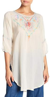 Johnny Was Brazilia Curved Hem Tunic