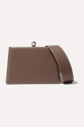 Ratio et Motus - Mini Twin Leather Shoulder Bag - Taupe