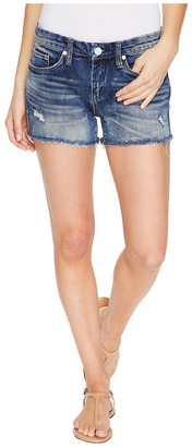 Blank NYC - Denim Shorts with Shadow Pocket in Amped Out Women's Shorts $78 thestylecure.com