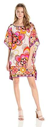 Trina Turk Women's Sabita Veradero Printed Silk Caftan