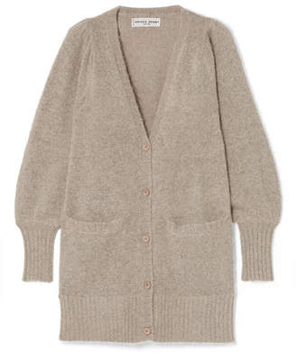 Apiece Apart Mirthe Knitted Cardigan - Beige