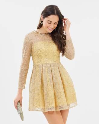 Spidergold Cocktail Dress