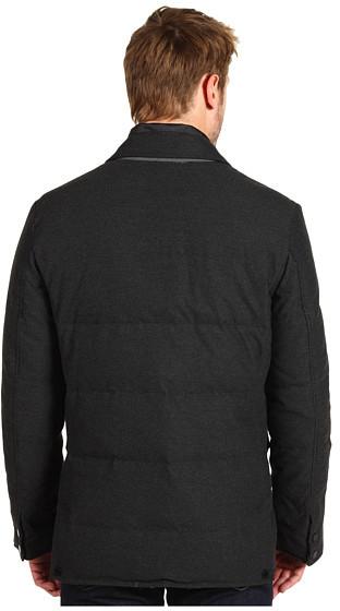Cole Haan Flannel Down Blazer