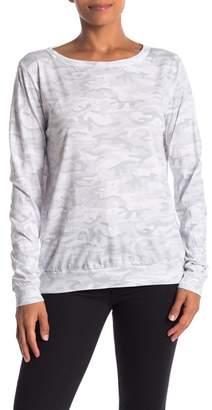 Michael Stars Lightwash Camo Print Shirt