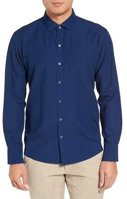 Zachary Prell Long Sleeve Trim Fit Sport Shirt