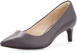 Cole Haan Amelia Grand 45mm Pump, Iron Stone $170 thestylecure.com
